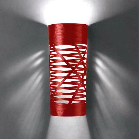 TRESS Applique Rouge H60cm Foscarini Luminaires