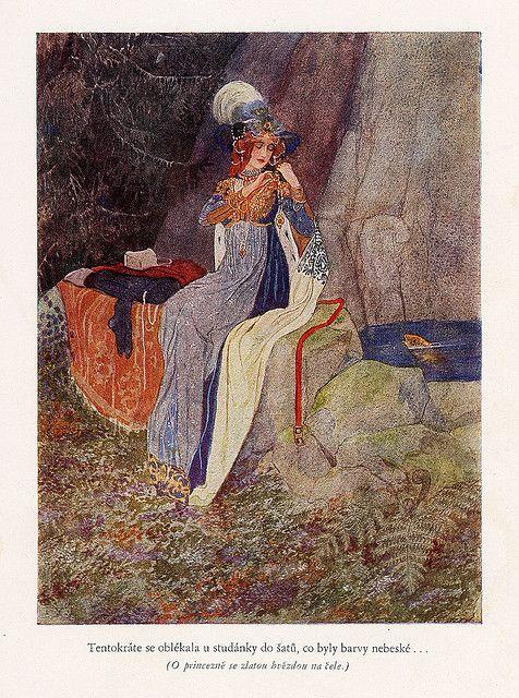 Fairy Tales Of Božena Němcová    Illustrated by Artuš Scheiner