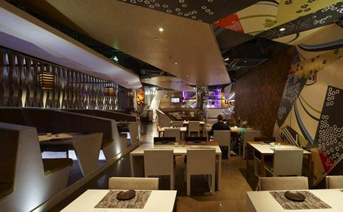 Haiku Sushi In Shanghai, China 5   Restaurants And Coffee Shops With  Beautiful Interior Design