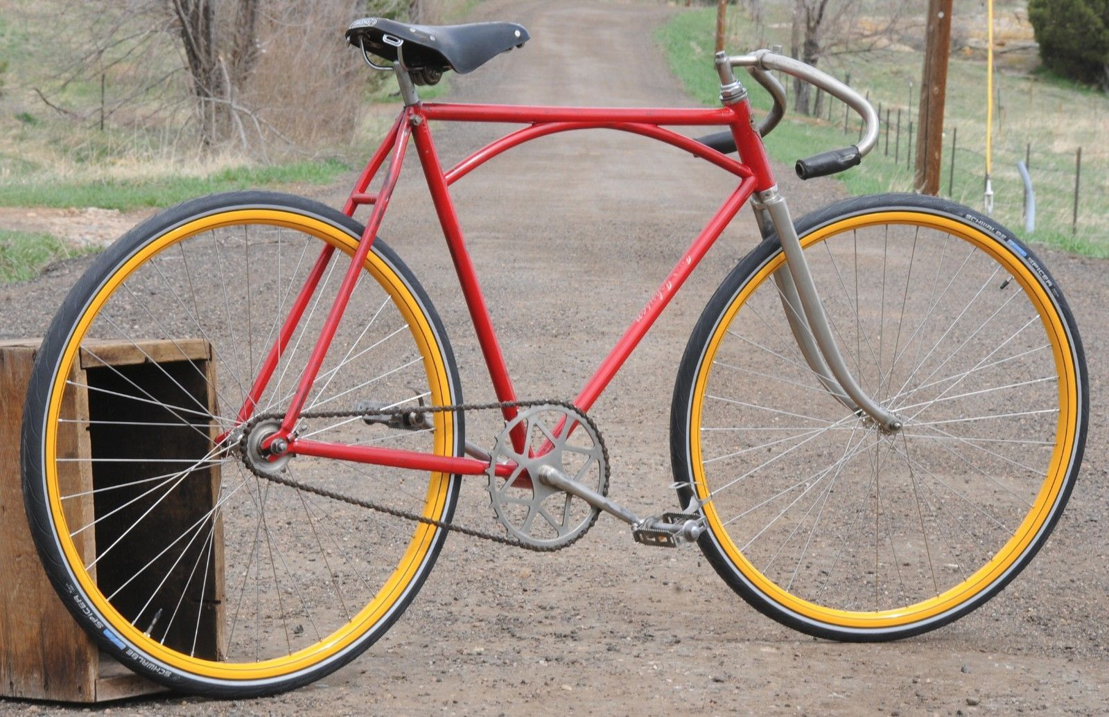 Certainly. bicycle track vintage