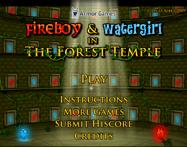 Unblocked Games 77: Fireboy and Watergirl Fireboy and