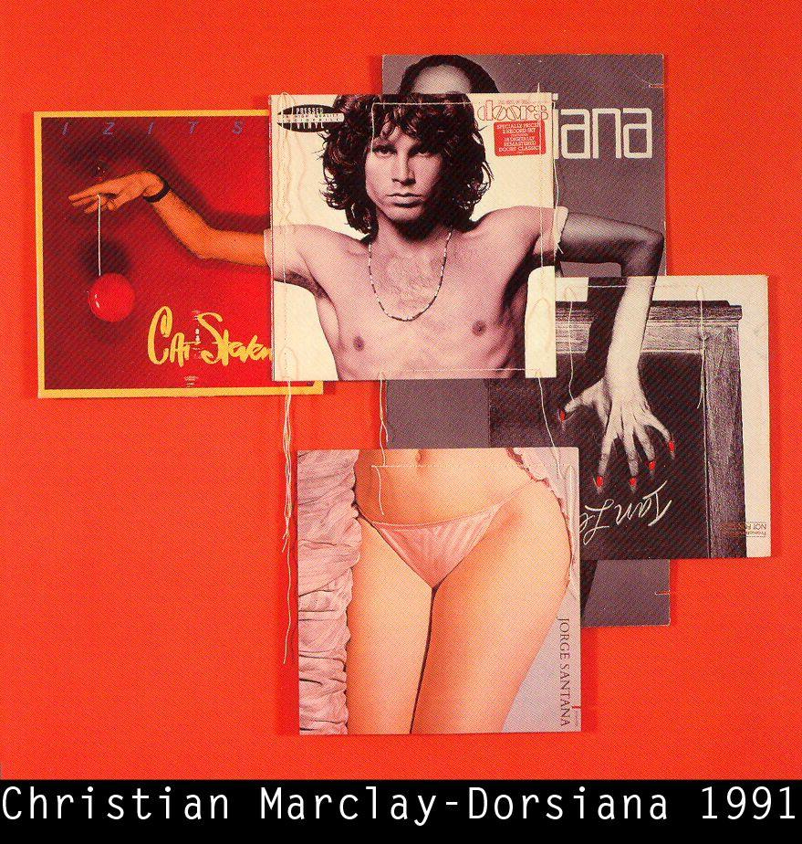 CHRISTIAN MARCLAY    dorsiana