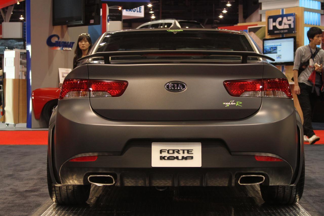 SEMA Show Kia Forte Koup Type R Concept  TuneMyToyotacom  CARS