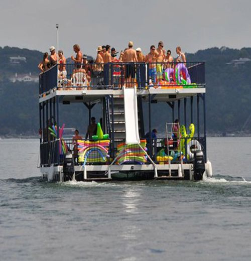 We Ve Just Added A Brand New Party Barge To Our Fleet