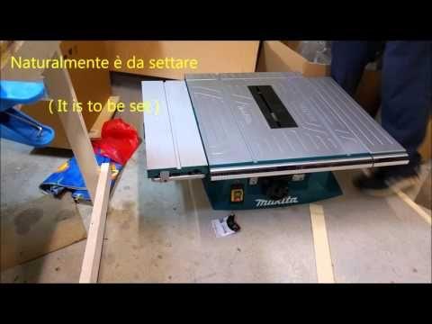Unboxing Sega circolare MTL100 (Unboxing table saw Makita MTL100