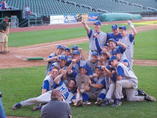 2007 Nh High School Baseball Class L Champions Winning Pitcher High School Baseball School Baseball Baseball Field