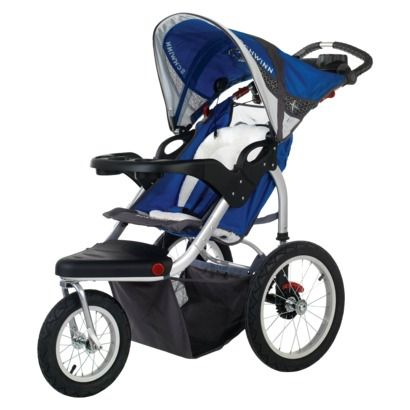 Schwinn Turismo Swivel Wheel Jogger - Single Blue/Gray ...