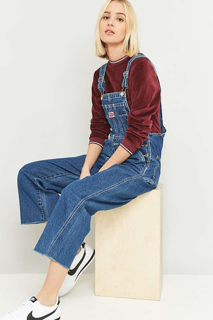a82471d9557e5 Urban Renewal Vintage Originals Denim Dungarees - Urban Outfitters ...