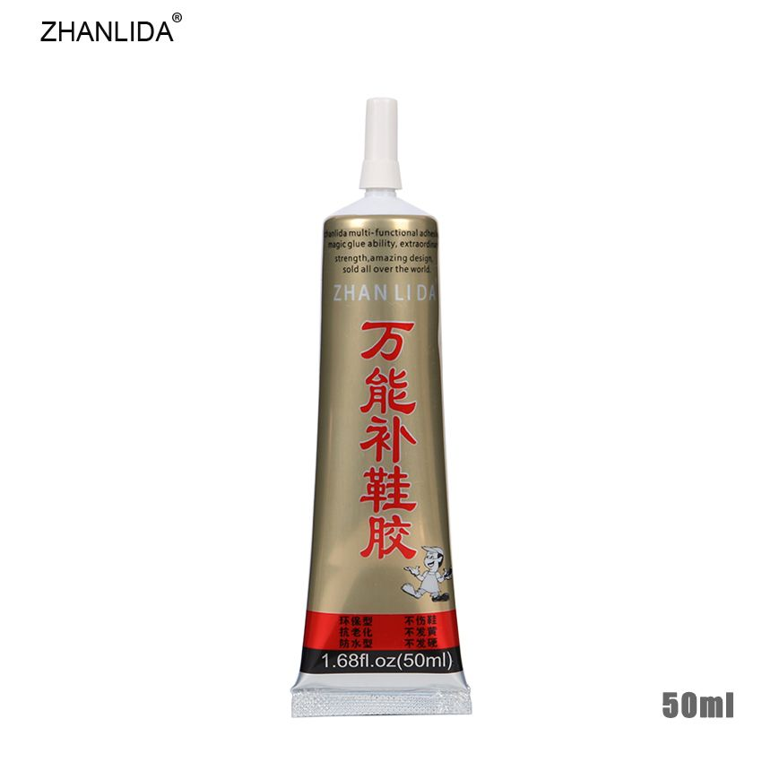 Zhanlida 1 Tube 50ml Multipurpose Repair Shoes Glue Leather Sports Shoes Strong Viscosity Environmental Glue Chaussure Sport Cuir