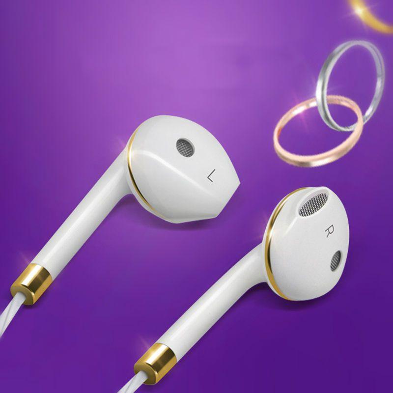 Original Earphone For Apple Iphone 5s 6s 5 Xiaomi Bass Earbud Headset Stereo Headphone For Apple Earpod Samsung Sports Headphones Headphones Stereo Headphones