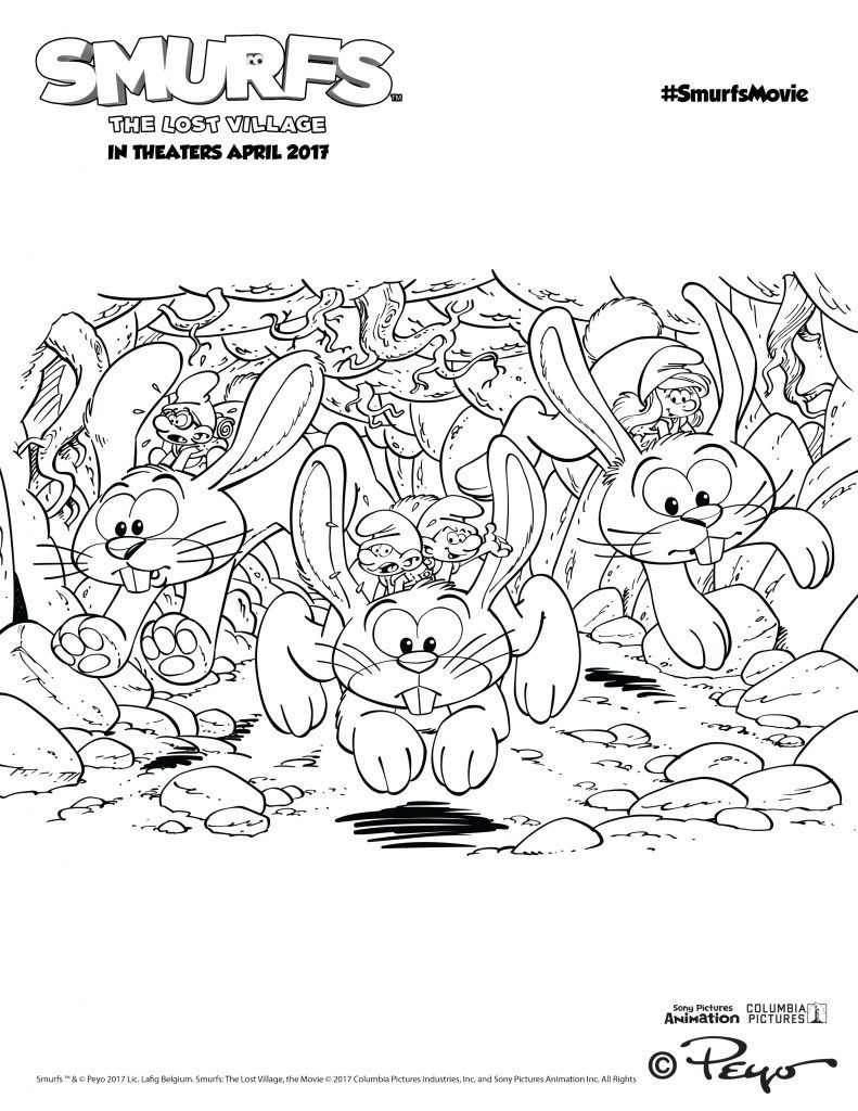 Smurfs Activities - Over 15 Smurfs Activity Pages