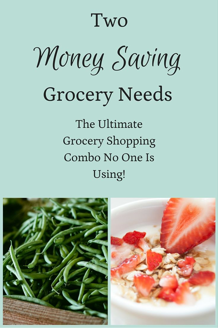 Two Money Saving Grocery Needs : The Ultimate Grocery Shopping Combo No One Is Using! via @becomingwellthy