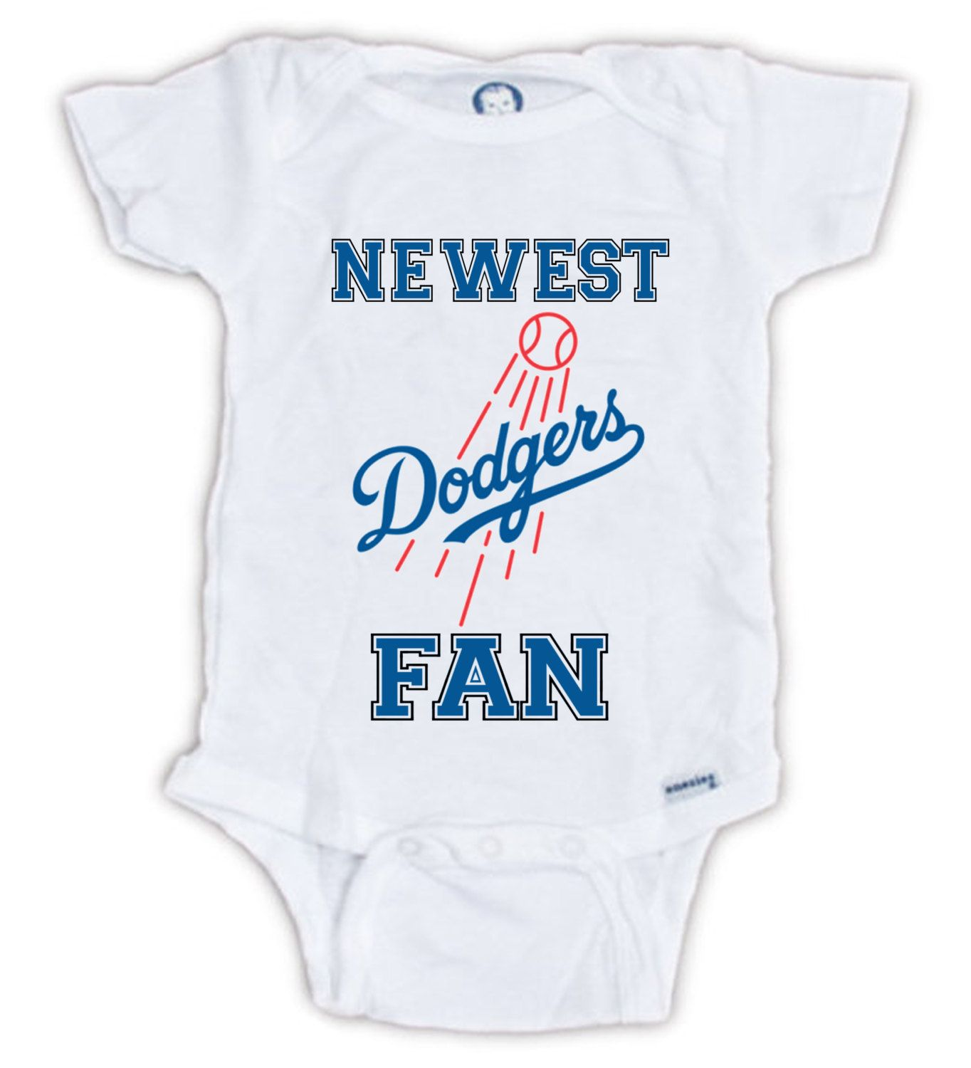 Los Angeles DODGERS FAN Baby esie Dodgers Bodysuit Newest