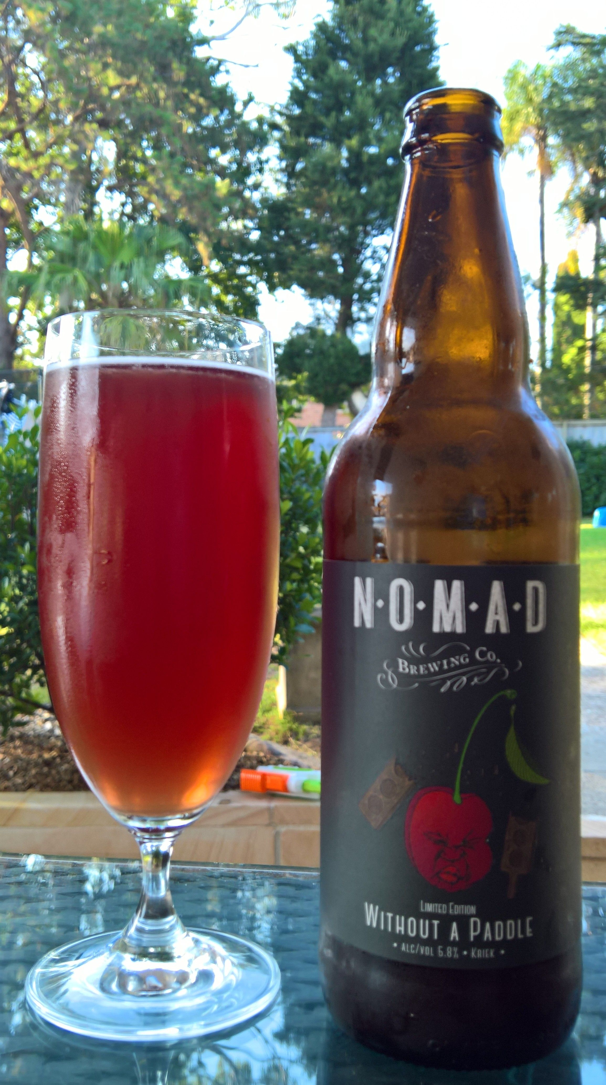 Nomad Without A Paddle Kriek Beer Bottle Beer Alcoholic Drinks