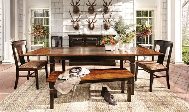 my new kitchen table ! Toulon Extension Dining Table | Arhaus ...