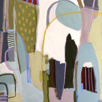"""""""Hampstead Heath"""" 22×30 on paper"""