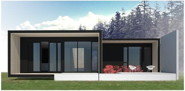 Prefab FanPrefab Homes \ Cabins, Prefabricated Modular Container - combien coute une maison en autoconstruction