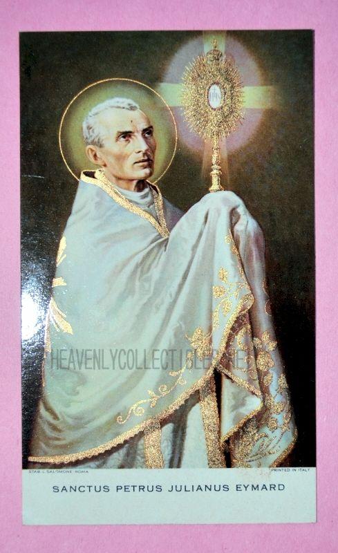 Sanctus Petrus Julianus Eymard 1962 Holy Card