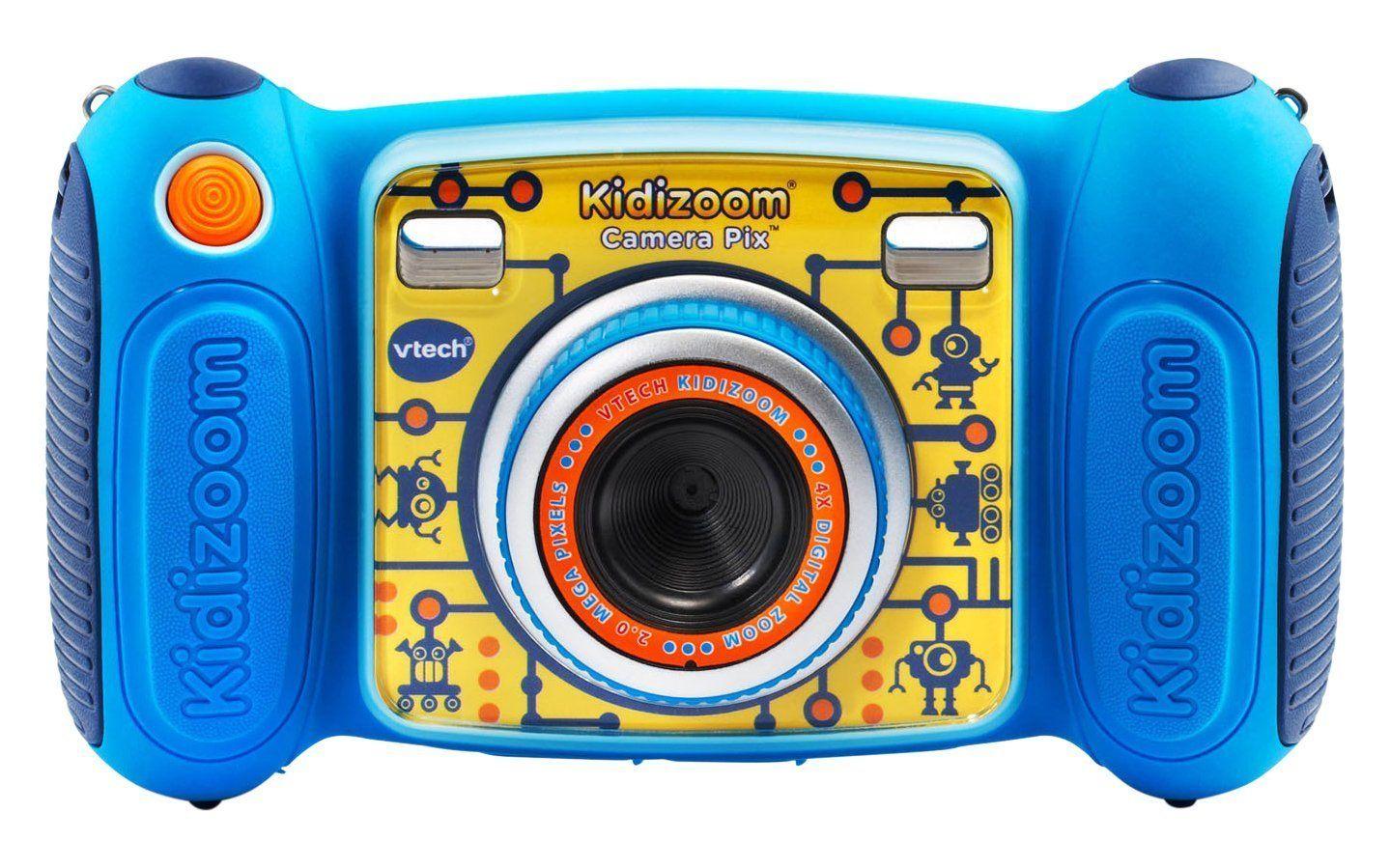 Amazon Com Vtech Kidizoom Camera Pix Blue Toys Games With Images Kids Camera Digital Camera Camera