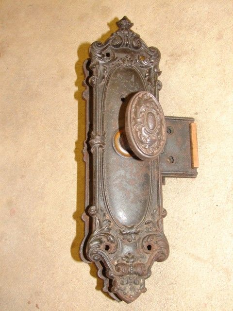 antique door knobs   Spindles & Set Screws    Door Knob Back Plates    - Antique Door Knobs Spindles & Set Screws  Door Knob Back Plates