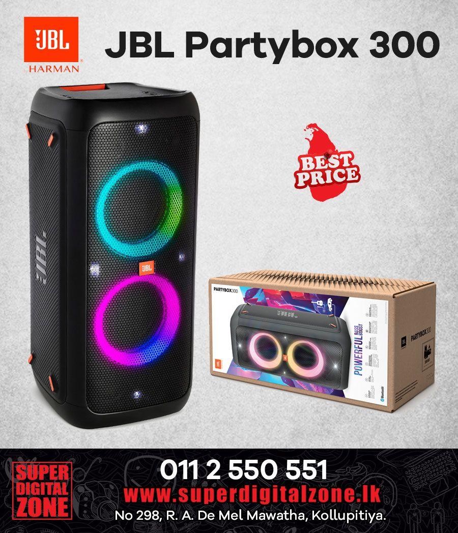 Jbl Partybox 300 Sri Lanka Jbl Wireless Speakers Bluetooth Bluetooth Speakers Portable