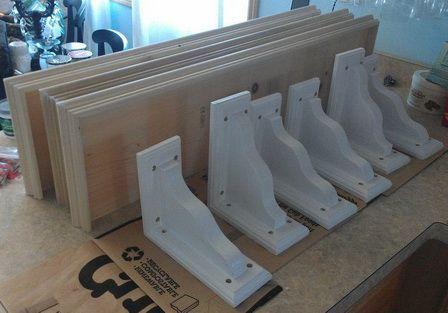 diy wood shelf