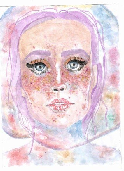 Por Maria Fernanda Rovaina #acuarela #pintura #watercolor #ilustration