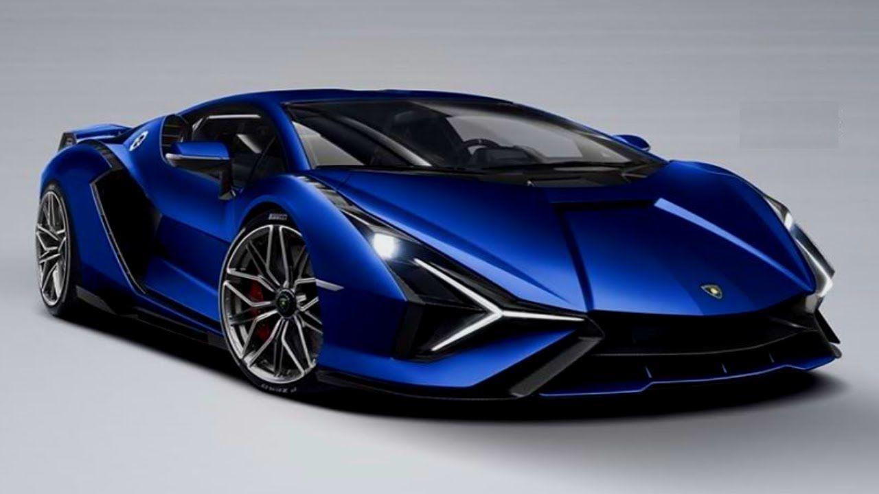 Lamborghini Sian First Hybrid First Look Interior And Exterior Col Super Cars Futuristic Cars Lamborghini