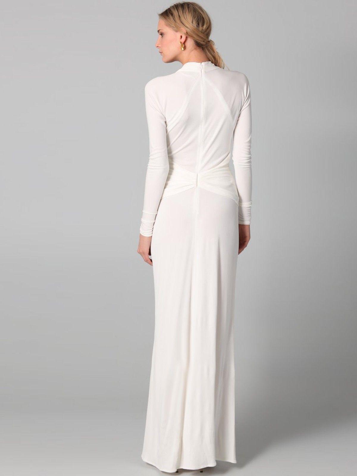 Long Sleeve Sheath Wedding Dress - Yahoo Image Search Results | My ...