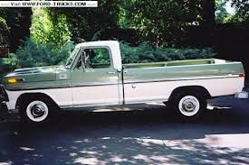 1968 Ford Ranger F250 camper special - Google Search