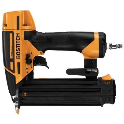 Bostitch Smart Point 18 Gauge Brad Nailer Kit Btfp12233 At