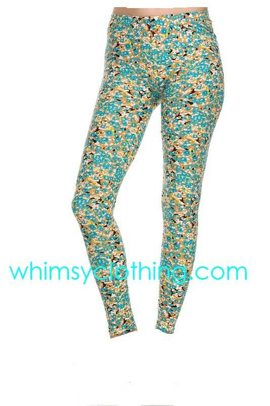 Floral leggings at whimsy