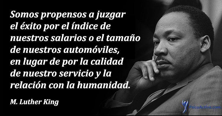 Martin Luther King Las 10 Mejores Frases Sobre Paz Igualdad