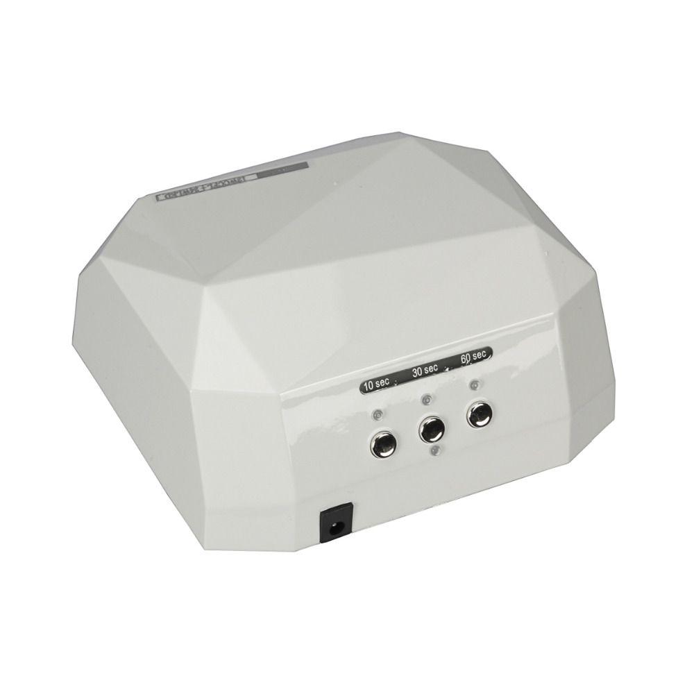 Suelina Nail Dryer&FREE SHIPPING Sensor 36W Dryer Gel Rapid Drying Nail Diamond Shaped CCFL Curing for UV Gel Polish Nail Art
