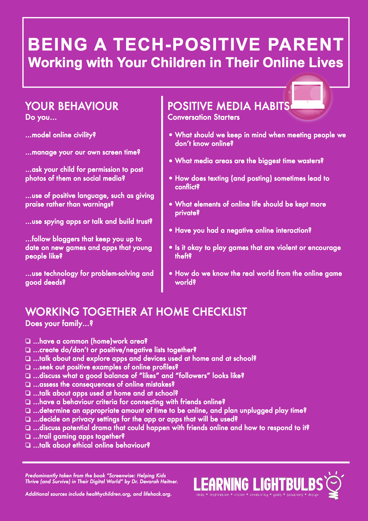 Positive Media Habits At Home Tips For Parents Raising Children In The Digital Age Largely Based On The Book Sc Helping Kids Positive Parenting Raising Kids