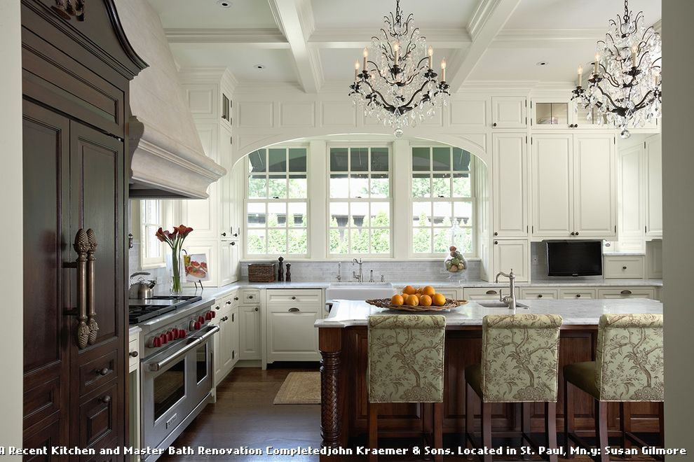 Kitchens With 12 Foot Ceilings For Traditional Kitchen And White Kitchen Cabinets Home Design Ideas Galleries Kitchen Style Kitchen Design Georgian Kitchen