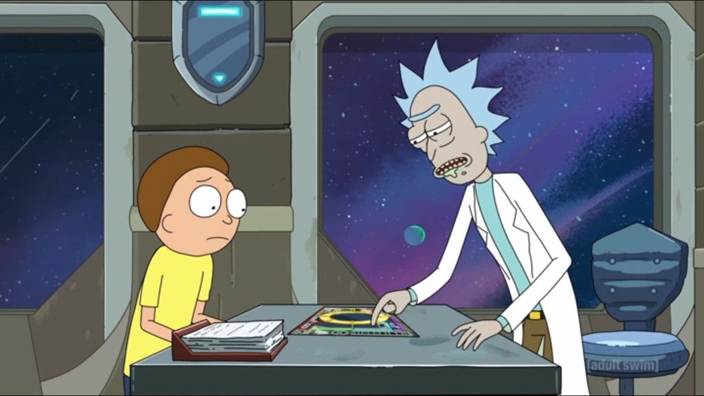 The Newest Episode Of Rick And Morty Showcases Dan Harmon S Story Circle And Explains Why His Creations Keep Eatin Rick And Morty Season Den Of Geek Dan Harmon