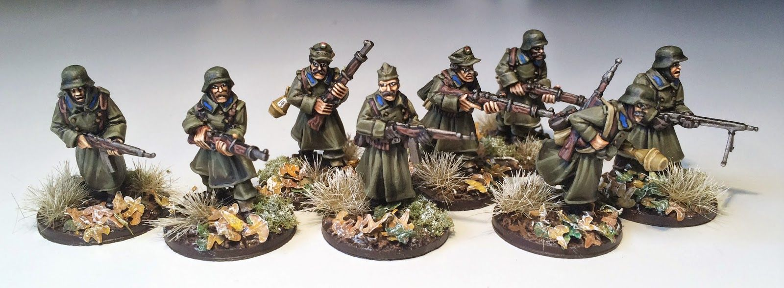 Bolt action painting hungarian infantry wwpd wargames