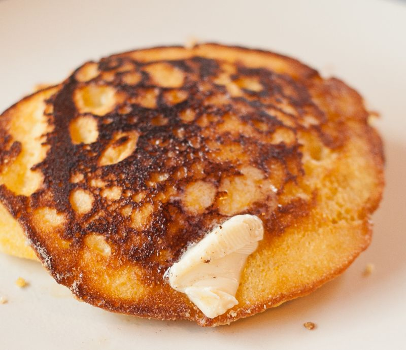 Pan Fried Johnny Cake Recipe
