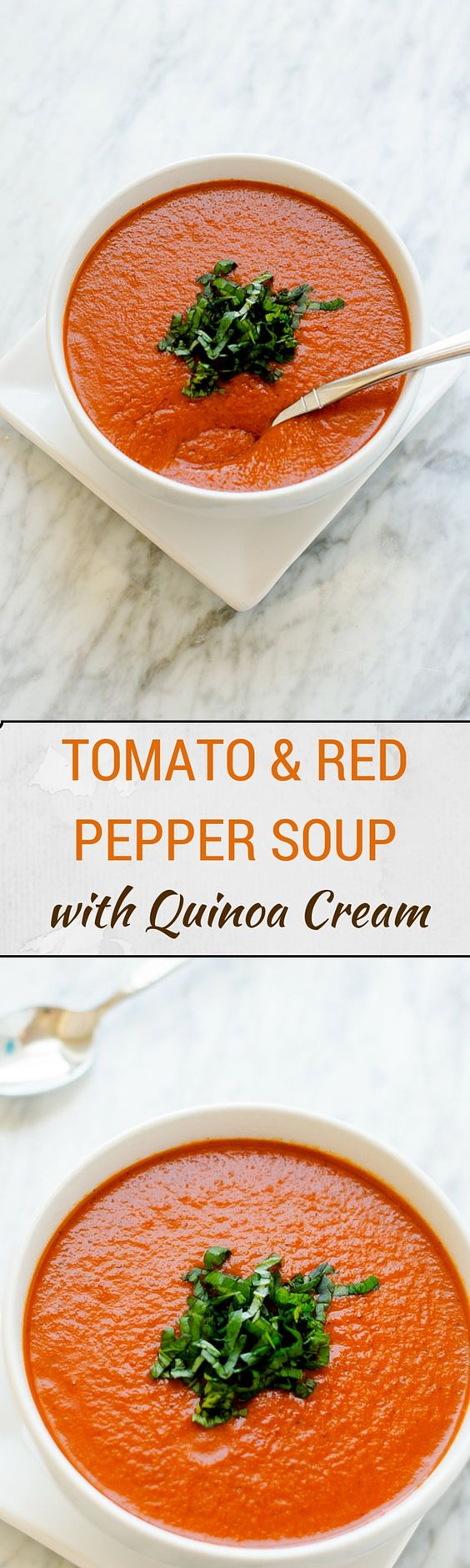 Roasted Red Pepper And Tomato Soup Easy Healthy Wendy Polisi Recipe Healthy Soup Recipes Stuffed Peppers Best Soup Recipes