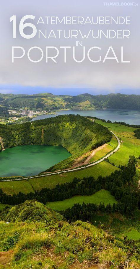 16 atemberaubende Naturwunder in Portugal | Wandern ...