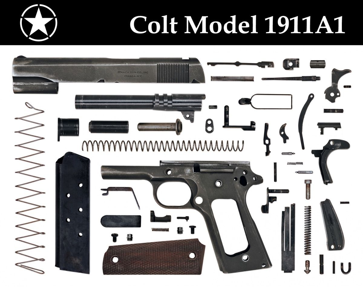 Small Arms Anatomy: Eight WWII Pistols - The Firearm Blog | Period ...