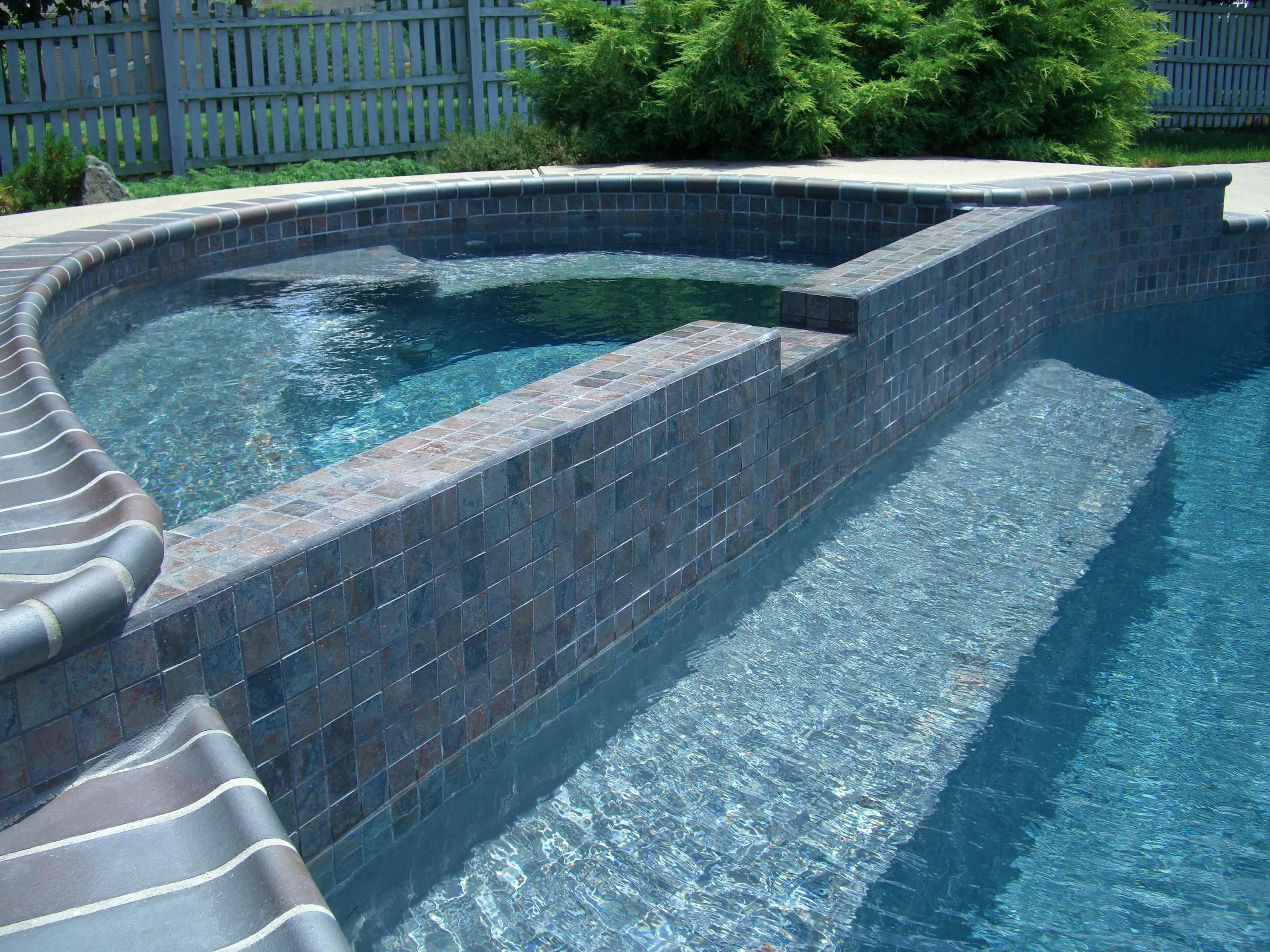 Pool Tile And Coping Ideas inground pool coping idea and cost guide Gray Plaster Dark Ironspot Coping Aztek Cobalt Tilejpg 27362052
