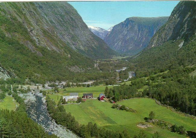 Møre og Romsdal fylke Nesset kommune Finnset Eikesdal I Romsdal Utg Birkeland