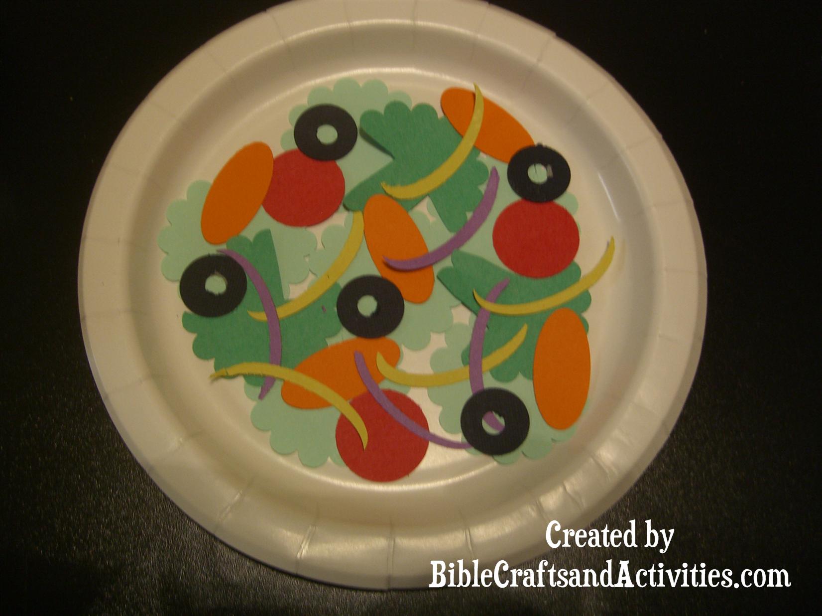 Punch Art Salad