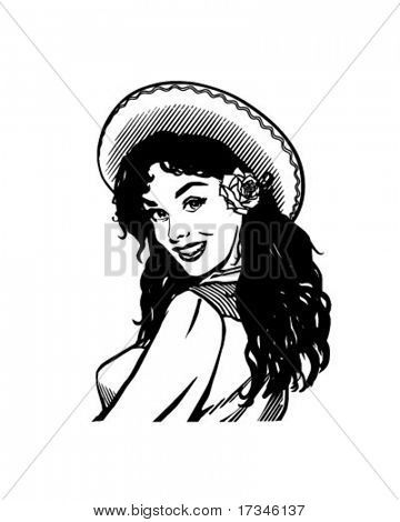10+ Mexican Clipart Black And White