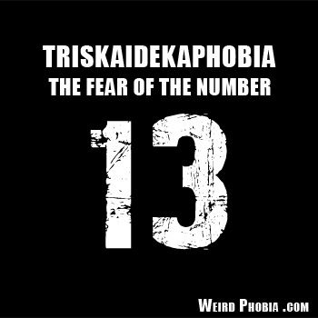 Triskaidekaphobia the fear of the number 13 dictionary phobias fandeluxe Choice Image