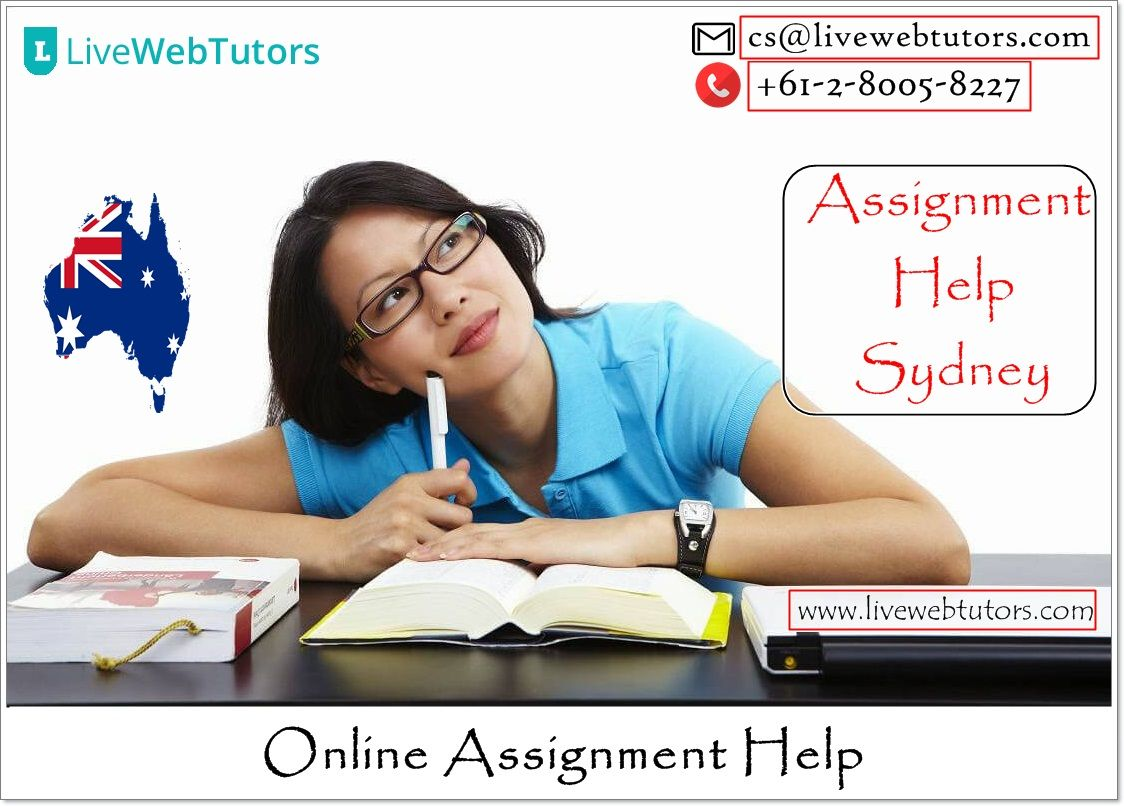 Livewebtutors provides Assignment Help Sydney and the Best