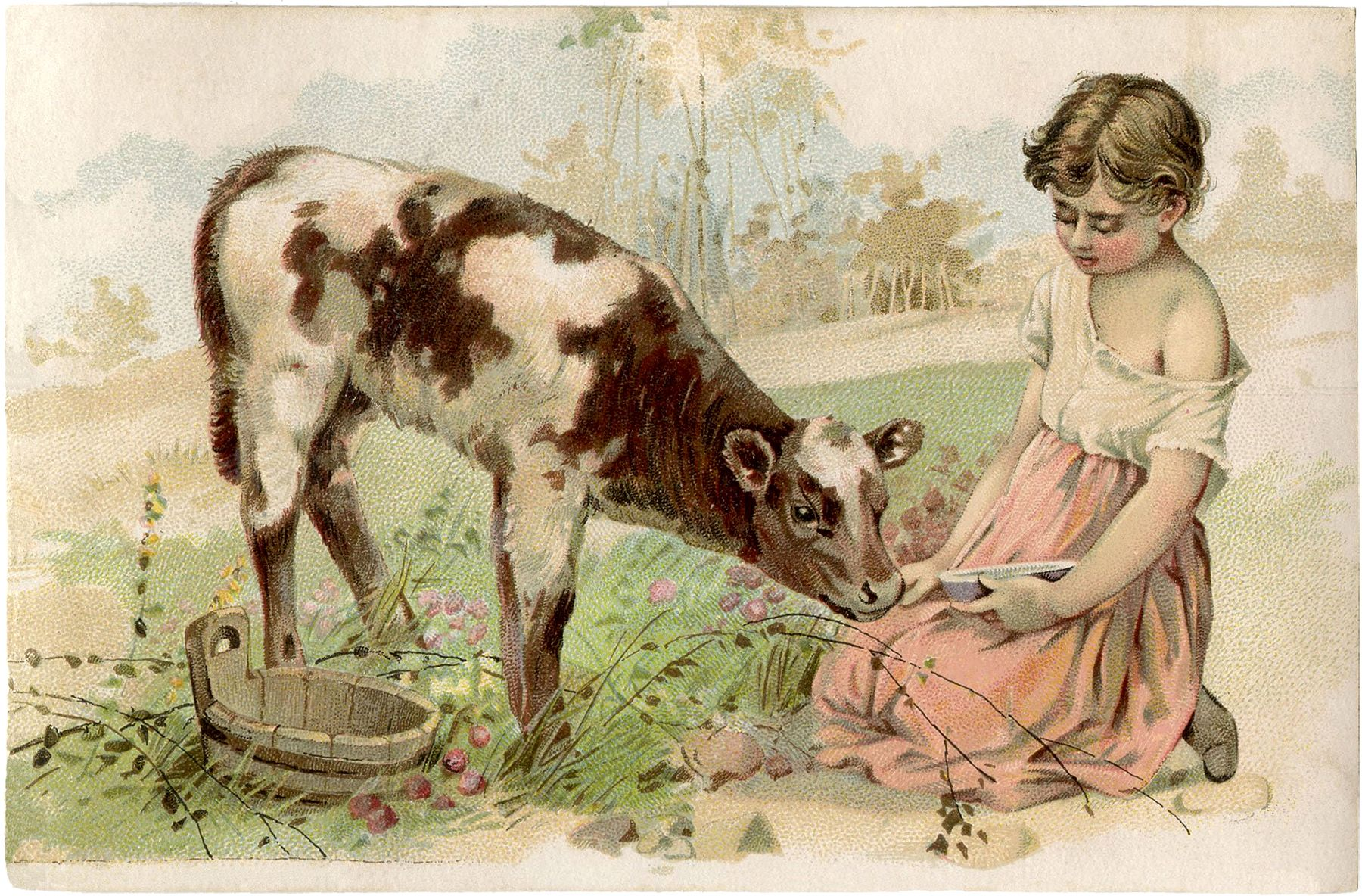 Картинки с животными винтаж для декупажа