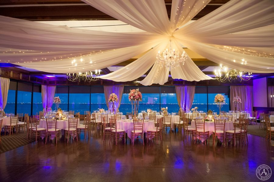 Tampa Wedding Photography At The Rusty Pelican Ballroom Wedding Reception Wedding Reception Decorations Wedding Reception Decorations On A Budget